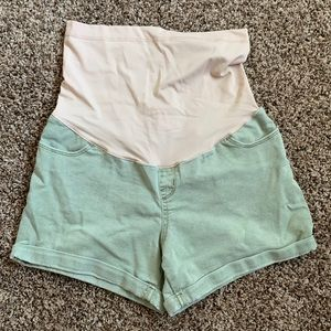 Liz Lange Maternity Army Green Shorts